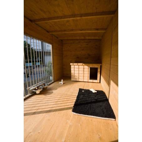 Suelo de madera tratado