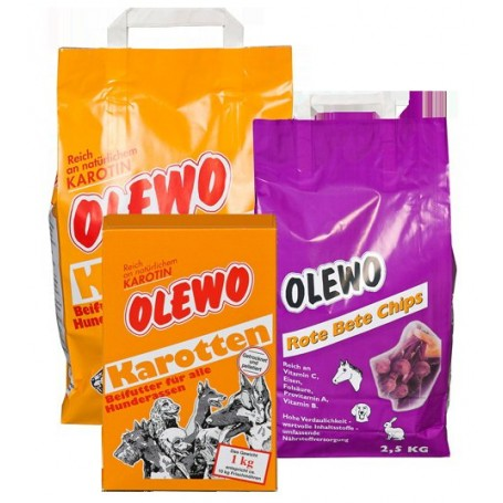 Zanahoria Olewo para perros 2,5kg