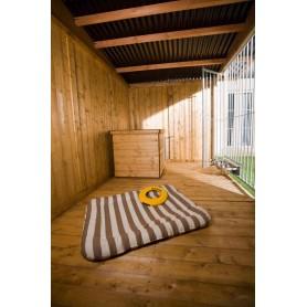 HOLZBODEN Suelo de madera para Boxes tratado por inmersión en caliente