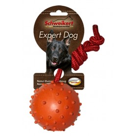 Noppenball, 5 cm, am 30 cm Seil, orange