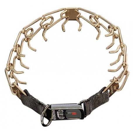 DRESSURHALSKETTE CLICK CUROGAN - Collar HS Sprenger® Curogan Ultra 3,2mm con Click
