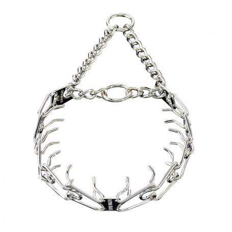 DRESSURHALSKETTE CROM - Collar de trabajo Cromado Ultra HS Sprenger® 58cm