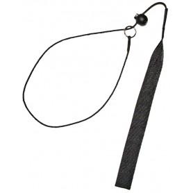 EINWIRKUNGSHALSUNG MIT GURTBAND  - Collar de Corrección con asa 3mm 75cm