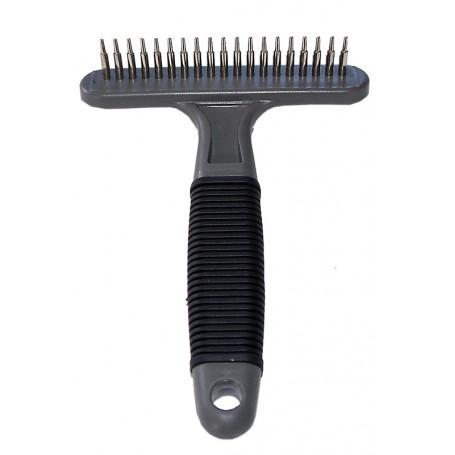 FELLSTRIEGEL - Cepillo ligero para pelo mediano o largo con una fila