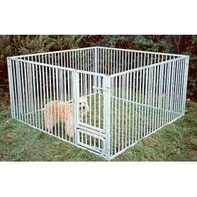 NICKI ROHRSTAB - Parque para cachorros con Barrotes