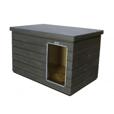 Caseta de madera Nórdica para interior de boxes Color Grafito