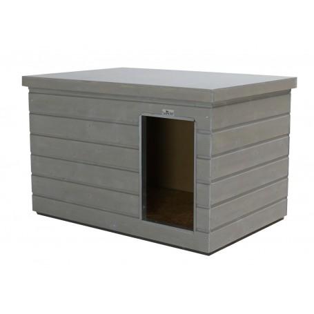 Caseta de madera Nórdica para interior de boxes Color Platino