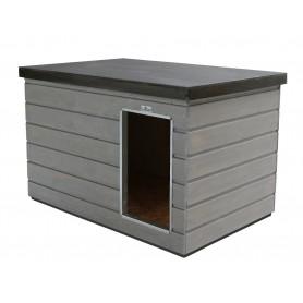 Caseta de madera Nórdica para interior de boxes Colores Grafitos Combinados