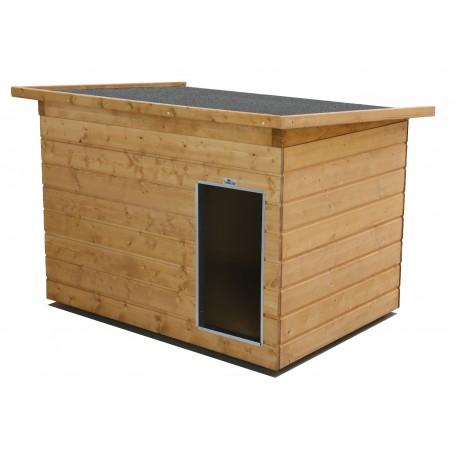 LASSIE-DINO ALLWETTER - Caseta para perros de madera para el Exterior