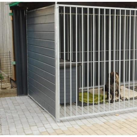 Hundezwinger Holzelement Sonderserie 1,84   Graphitgrau