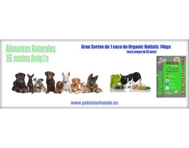 Para todos Nuestros clientes, Sorteamos un saco Organic Holistic 14kgs