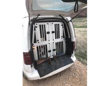 Boxes para perros VW Caddy Entregados!